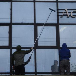 屋根・窓清掃2